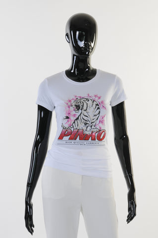 Pinko - T-Shirt - Wit