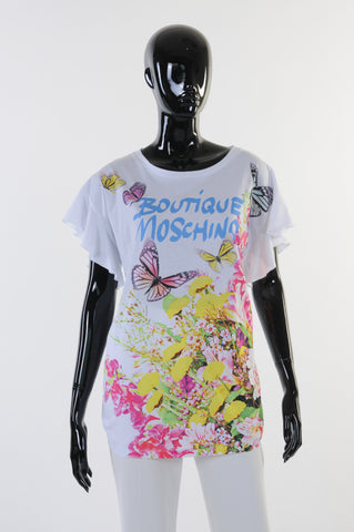 Boutique Moschino - T-Shirt - Wit