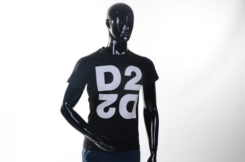 Dsquared - T-shirt - ZWART