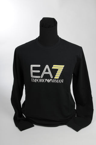 EA 7 - SWEATER - ZWART