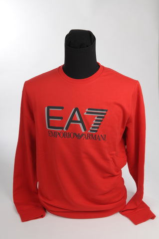 EA 7 - SWEATER - ROOD