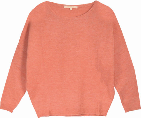 LA FEE MARABOUTEE - PULL - ROSE