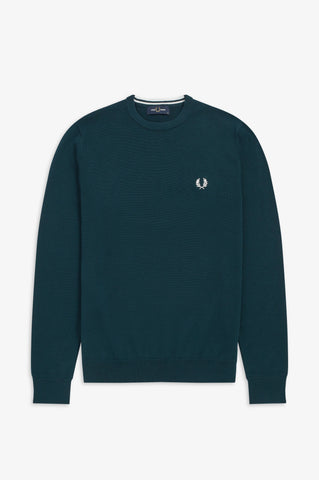 FRED PERRY - PULL - BLAUW