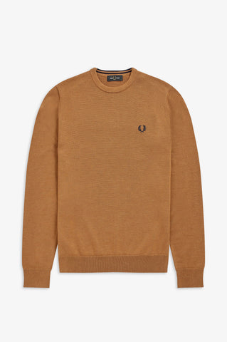 FRED PERRY - PULL - 450 CARAMEL