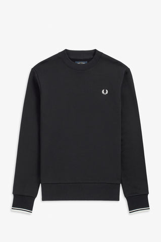 FRED PERRY - SWEATER - 248 BLAUW