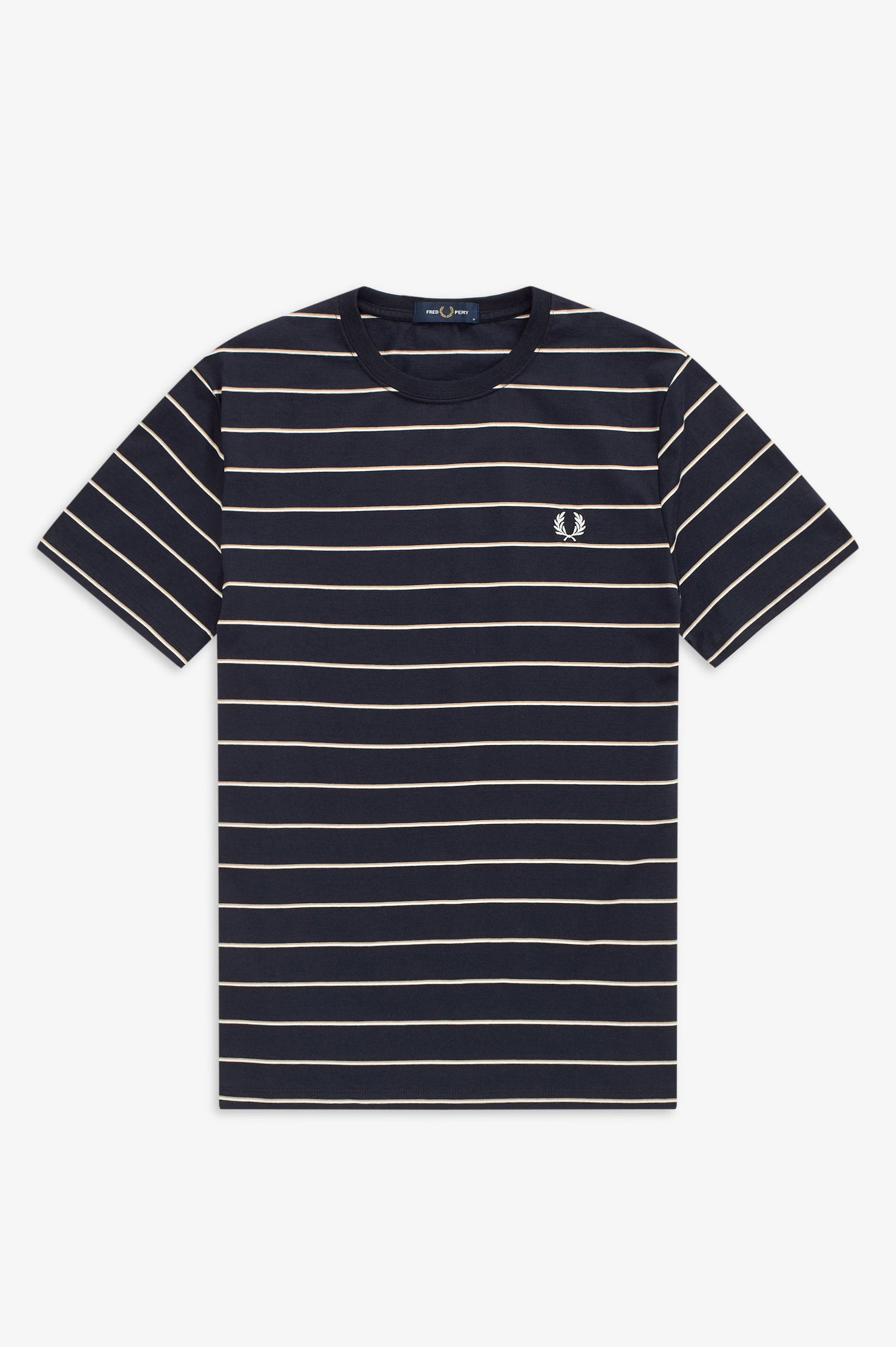 FRED PERRY - T-SHIRT - 248 NAVY