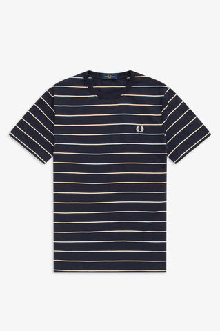 FRED PERRY - T-SHIRT - 248 BLAUW