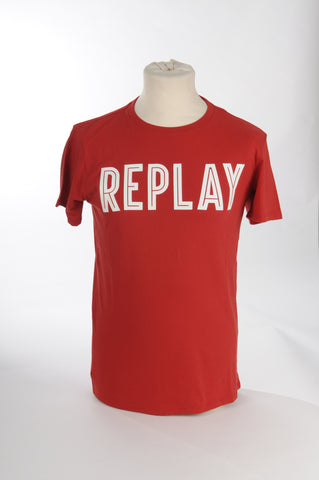 Replay - T-shirt - ROOD
