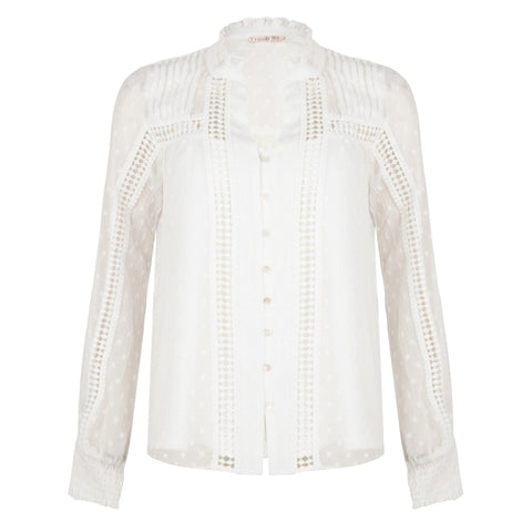 Esqualo - Blouse - Wit