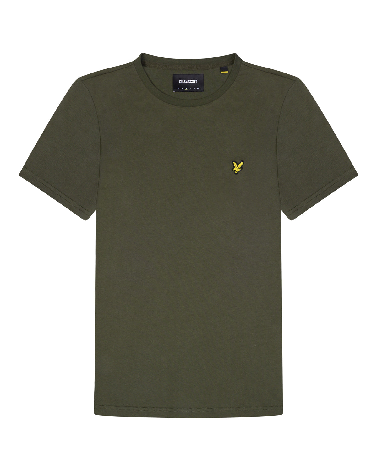 lyle & scott - PLAIN T-SHIRT - W123 TREK GREEN