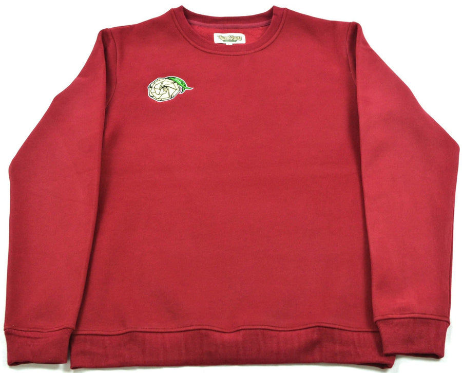 Blood Moon Crew Neck Sweater - SweetGrass Clothing Company