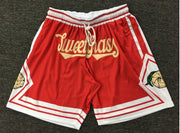 LIMITED Edition SweetGrass Basketball Shorts | RED | - SweetGrass Clothing Company