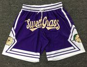 PREORDER LIMITED Edition SweetGrass Basketball Shorts | GRAPE - SweetGrass Clothing Company