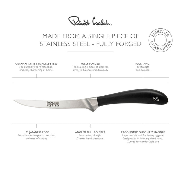 Signature Flexible Filleting Knife 16cm