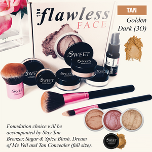 3O Deluxe Golden Dark  Flawless Face Package