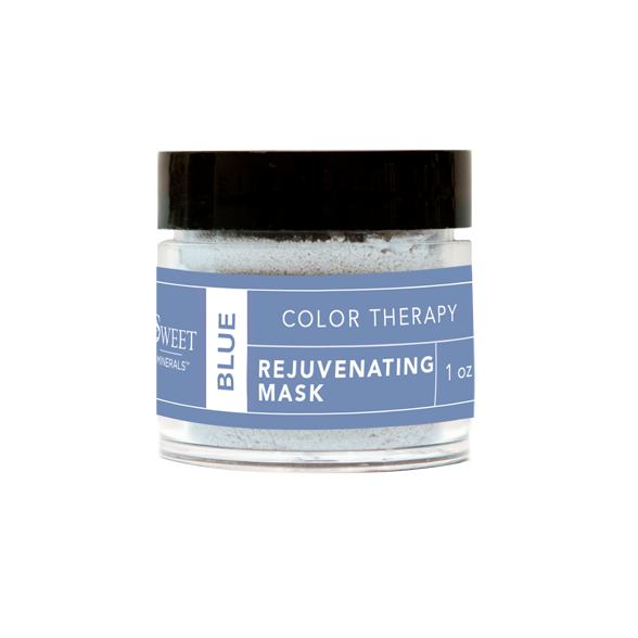 Blue Rejuvenating Color Therapy Mask