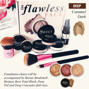 Deluxe Caramel Dark Flawless Face Package