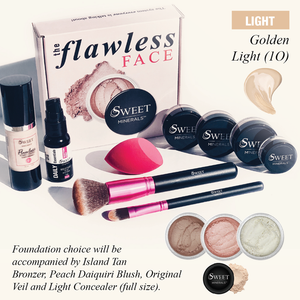 1O Flawless Face DELUXE LIQUID Complexion GOLDEN LIGHT