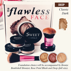 Classic Dark  Flawless Face Package