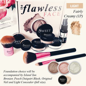 1P Deluxe Fairly Creamy Flawless Face Package