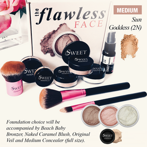 2N Deluxe  Flawless Face Package
