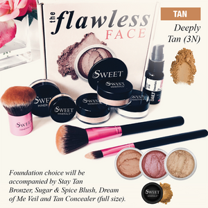 3N Deluxe DeeplyTan Flawless Face Package
