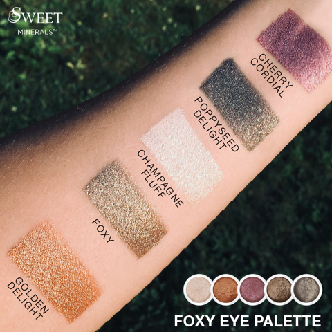Foxy Loose Mineral Palette