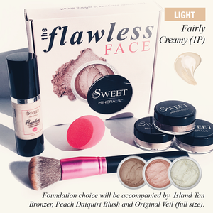 1P Flawless Face LIQUID Complexion System FAIRLY CREAMY