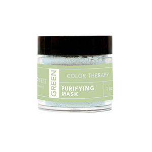 Green Purifying Color Therapy Mask