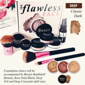 Deluxe Classic Dark Flawless Face Package