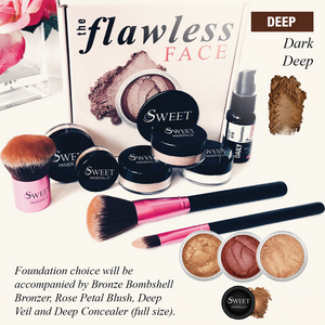 Deluxe Dark Deep Flawless Face Package
