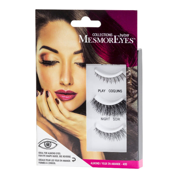 Mesmoreyes Set Of 3 False Eye Lashes By Eye Shape