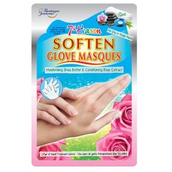 7th Heaven Soften Glove Masques For Dry Rough Back of Hands