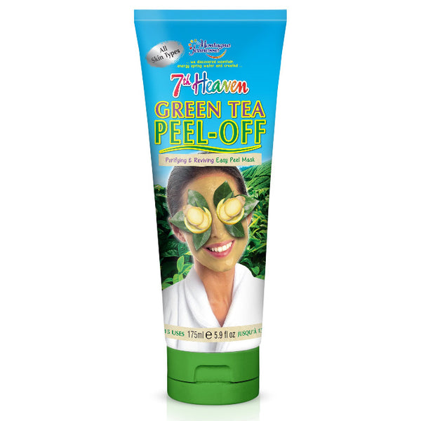 Green Tea Peel Off Face Mask Skincare 175mL 7th Heaven