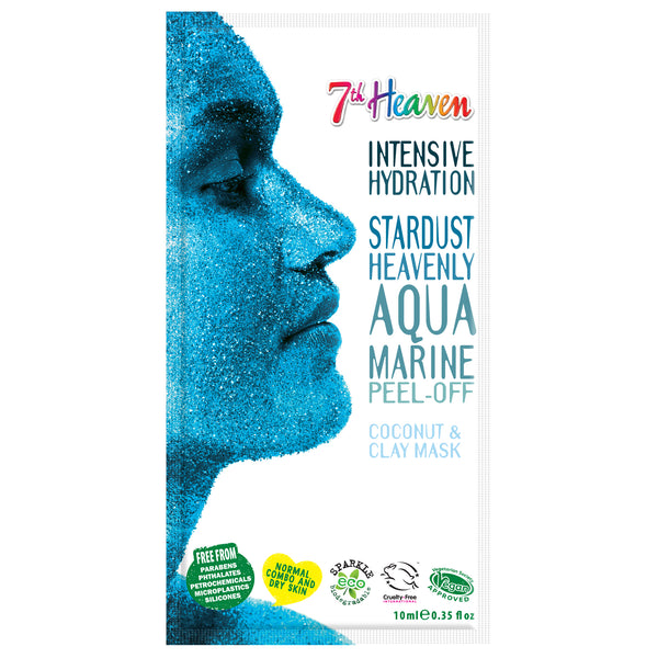 Stardust Face Peel Off Mask - Aqua Marine 7th Heaven