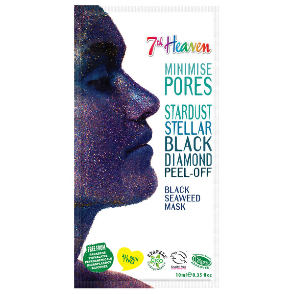 Stardust Face Peel Off Mask - Black Diamond 7th Heaven