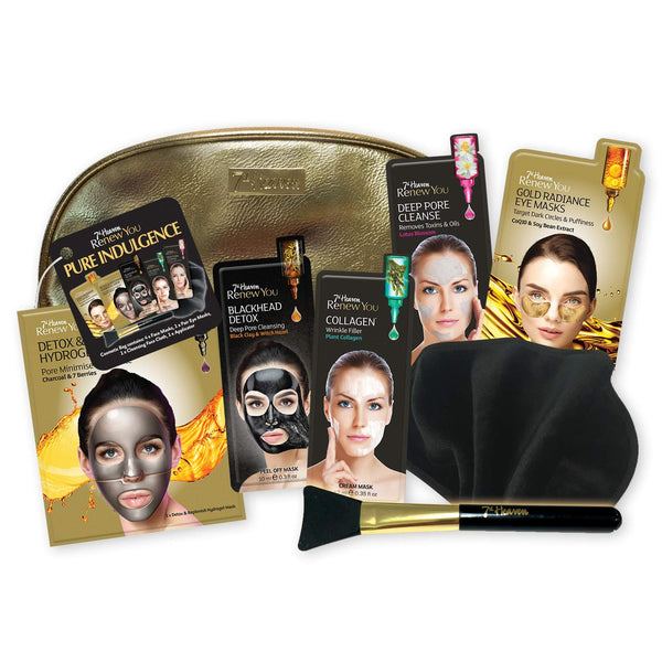 Renew You Pure Indulgence Face Masks Skincare Gift Set 7th Heaven