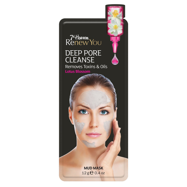 Renew You Deep Pore Cleanse Face Mask Skincare 7th Heaven - 3 Pack