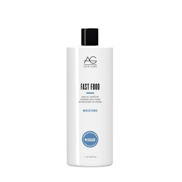 AG Fast Food Leave-In Conditioner For Thick Coarse Hair 1 Litre 33 Oz