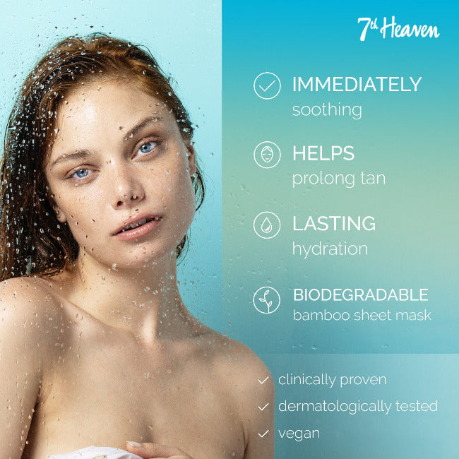 24 Hour Hydration After Sun Sheet Mask 7th Heaven