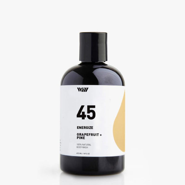 Way of Will 45 Energize Grapefruit & Pine 100% Natural Body Wash
