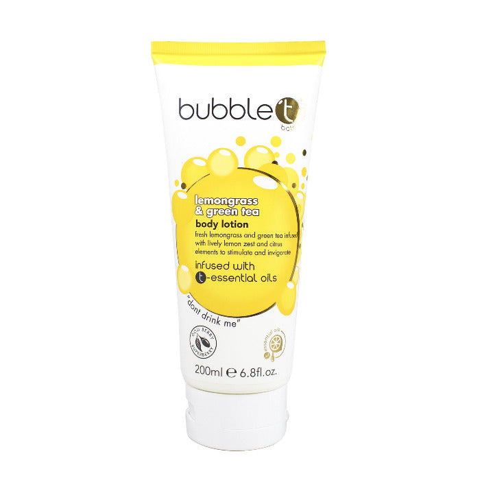 Bubble T Body Lotion Lemongrass