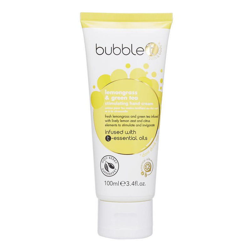 Bubble T Hand Cream Lotion Lemongrass