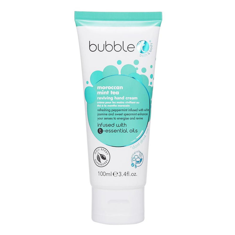 Bubble T Hand Cream Lotion Mint