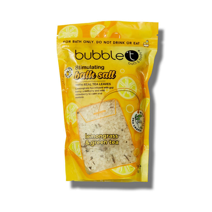 Bubble T Relaxing Bath Salts For Soothing Tired Aching Muscles