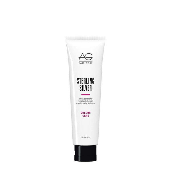 AG Hair Care Sterling Silver Toning Conditioner For Silver White Grey Blonde Hair
