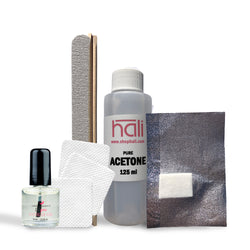 At Home Gel Shellac Nail Polish Removal Kit Professional Strength