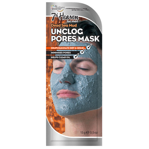 Dead Sea Mud Unclog Pores Face Mask Skincare 3 Pack 7th Heaven