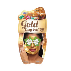 7th Heaven Gold Peel Off Face Mask Skincare Routine
