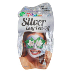 Silver Peel Off Face Mask Skincare 3 Pack - 7th Heaven